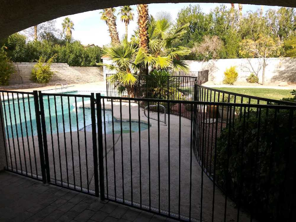 spring valley nv pool fence installation