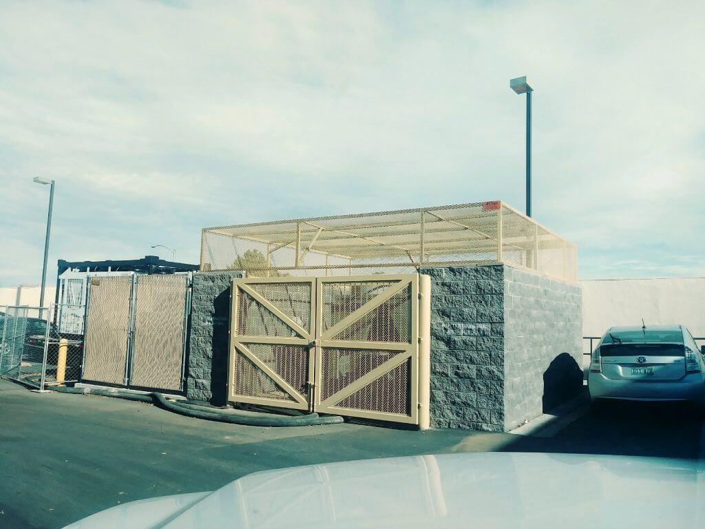 dumpster enclosure design