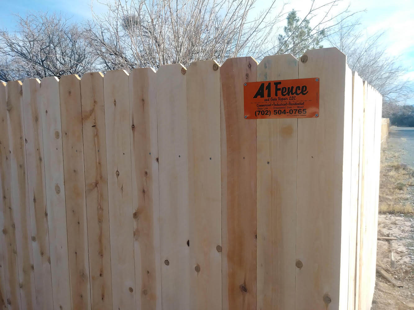 pahrump cedar fence