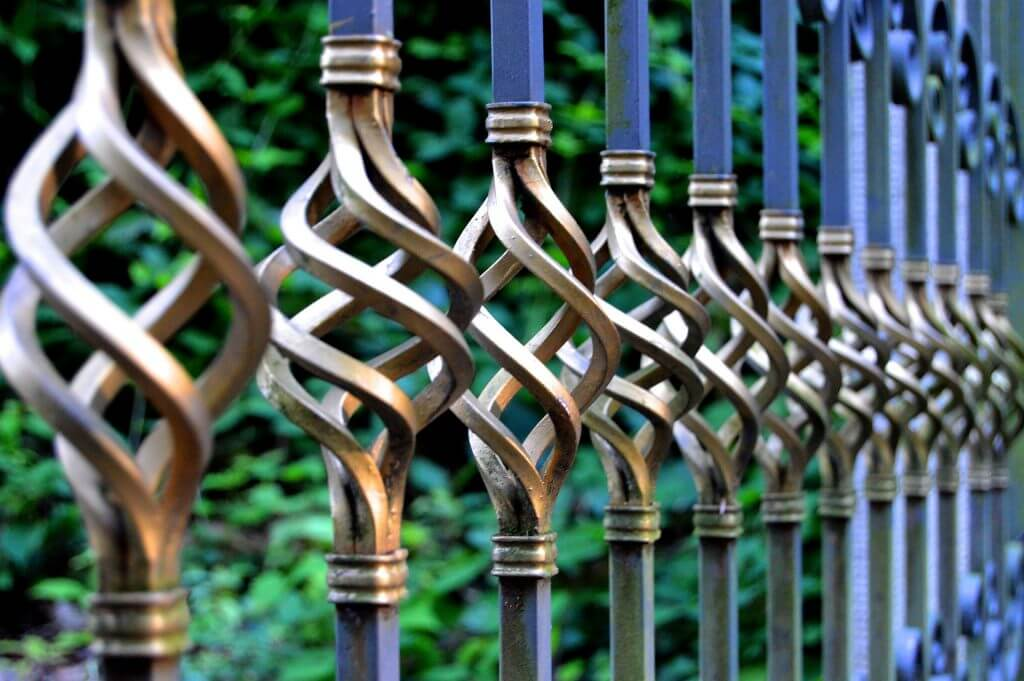 ornamental iron fence ornamental iron installation
