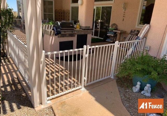 ornamental iron fence ornamental iron installation