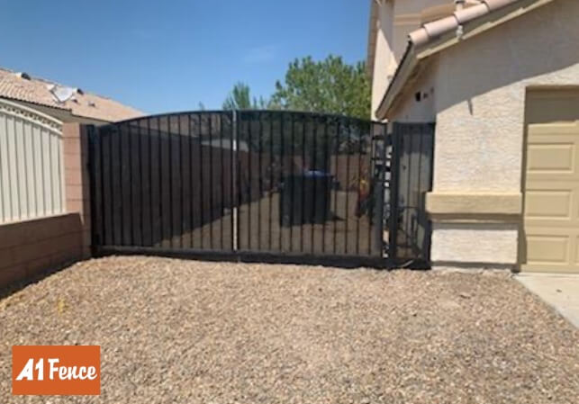 ornamental iron fence
