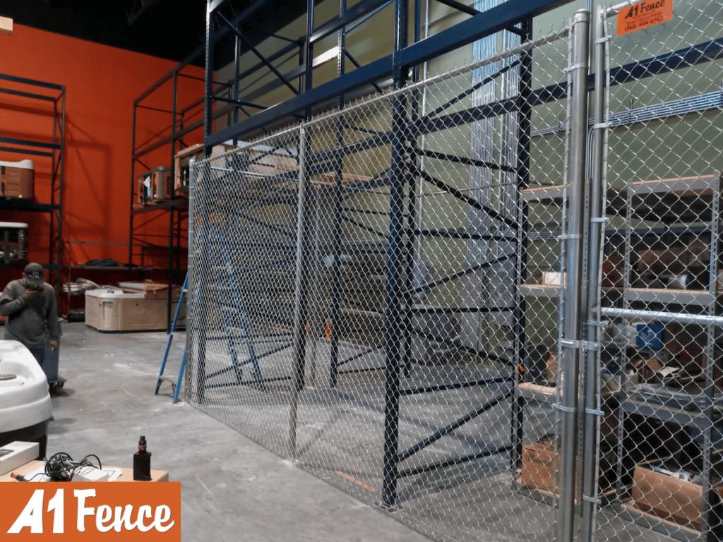 warehouse enclosures