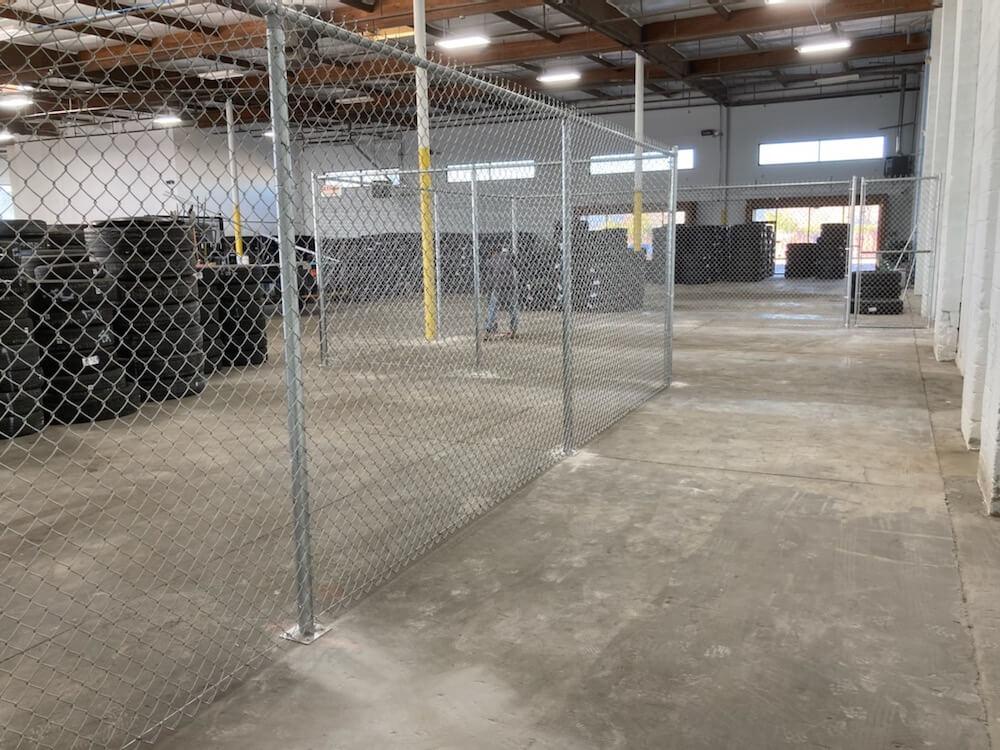 north las vegas warehouse partition