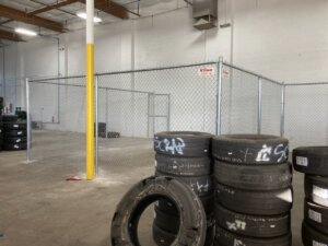 north las vegas warehouse partition